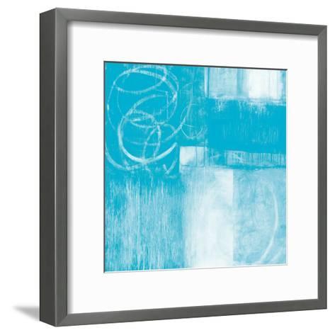 A Wintry Day II Light Blue-Jane Davies-Framed Art Print