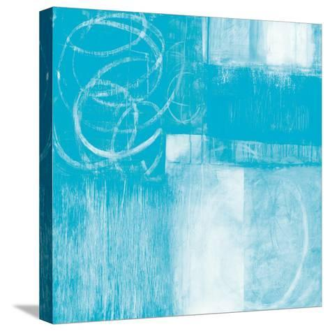 A Wintry Day II Light Blue-Jane Davies-Stretched Canvas Print