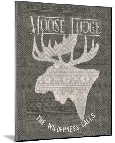 Soft Lodge V Dark-Janelle Penner-Mounted Art Print