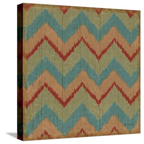 Country Mood Tile II-James Wiens-Stretched Canvas Print