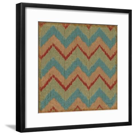 Country Mood Tile II-James Wiens-Framed Art Print