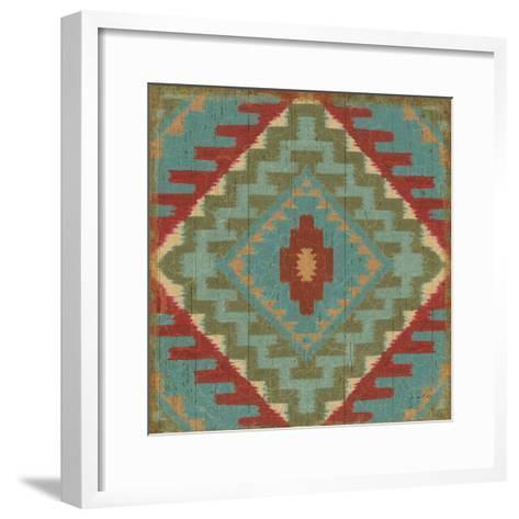 Country Mood Tile VII-James Wiens-Framed Art Print