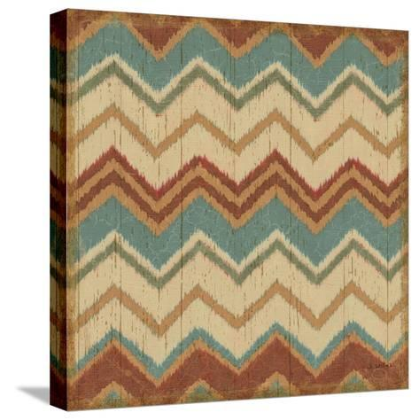 Country Mood Tile IV-James Wiens-Stretched Canvas Print