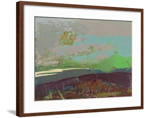 Ceide Study XVI-Grainne Dowling-Framed Art Print