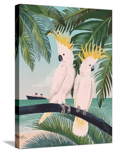 Welcome to Paradise IX-Janelle Penner-Stretched Canvas Print