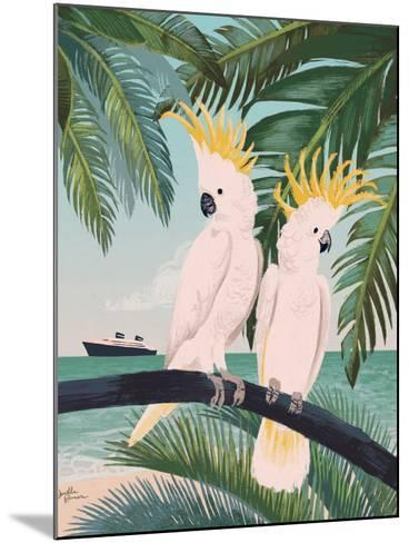 Welcome to Paradise IX-Janelle Penner-Mounted Art Print