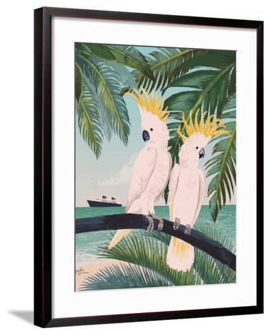 Welcome to Paradise IX-Janelle Penner-Framed Art Print