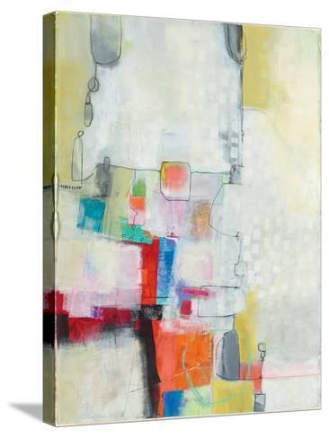 A Day in the City-Jane Davies-Stretched Canvas Print