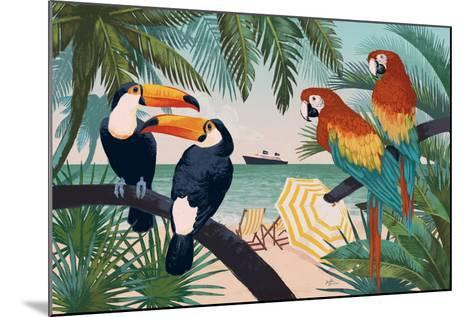Welcome to Paradise VI-Janelle Penner-Mounted Art Print