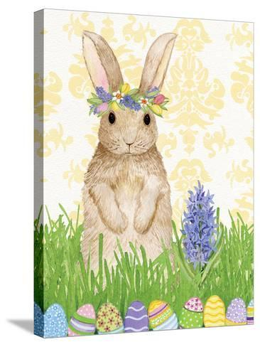 Spring Bunny II-Kathleen Parr McKenna-Stretched Canvas Print