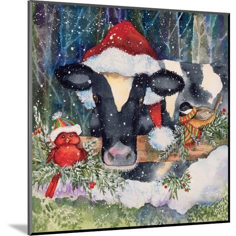 Winter Cow-Kathleen Parr McKenna-Mounted Art Print