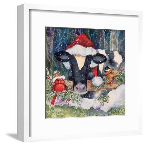 Winter Cow-Kathleen Parr McKenna-Framed Art Print