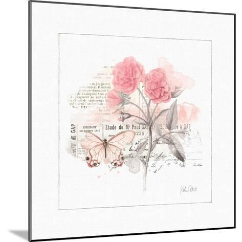 Sunny Day IV Pink-Katie Pertiet-Mounted Art Print