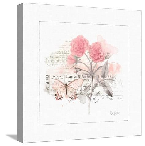 Sunny Day IV Pink-Katie Pertiet-Stretched Canvas Print