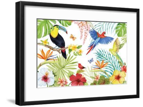 Treasures of the Tropics III-Kathleen Parr McKenna-Framed Art Print