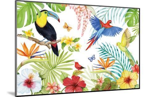Treasures of the Tropics III-Kathleen Parr McKenna-Mounted Art Print