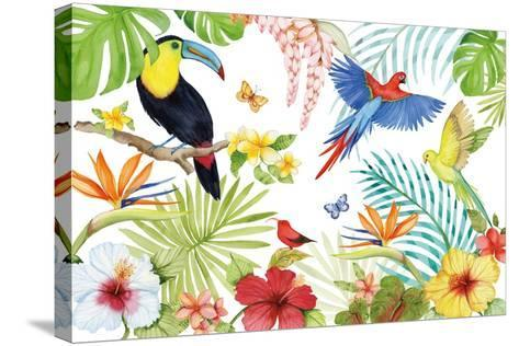 Treasures of the Tropics III-Kathleen Parr McKenna-Stretched Canvas Print