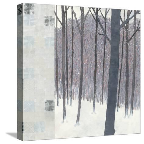 Winters End Flurries-Kathrine Lovell-Stretched Canvas Print
