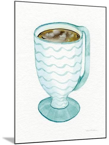 Coffee Break Element V-Kathleen Parr McKenna-Mounted Art Print