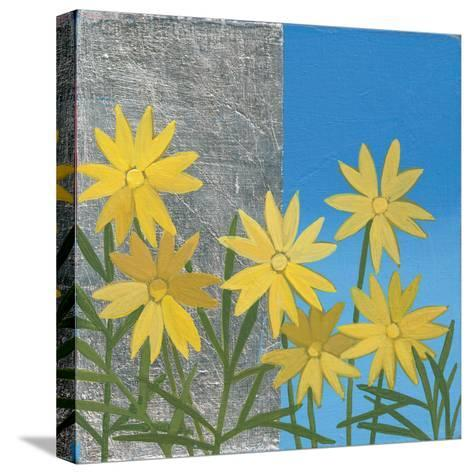 Coreopsis II-Kathrine Lovell-Stretched Canvas Print