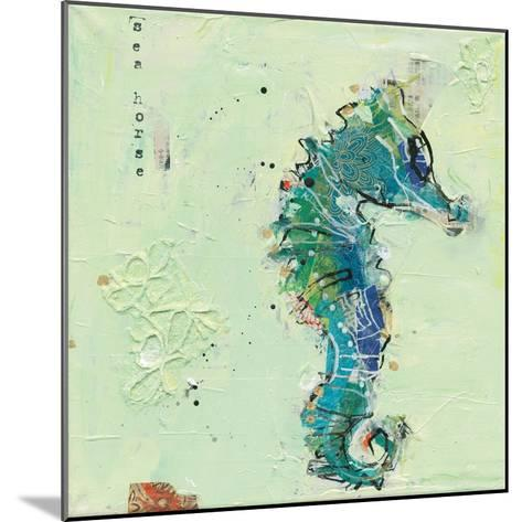 Little Seahorse-Kellie Day-Mounted Art Print