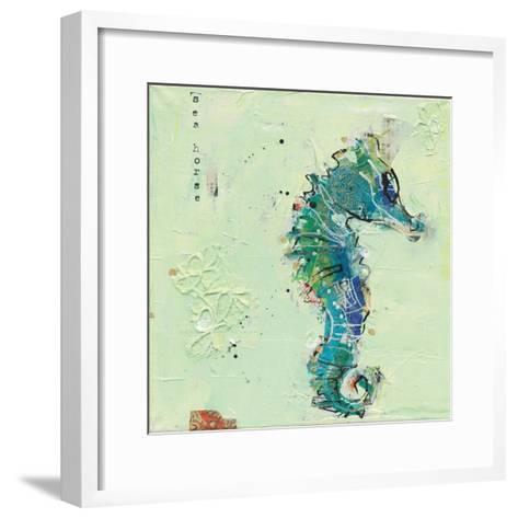 Little Seahorse-Kellie Day-Framed Art Print