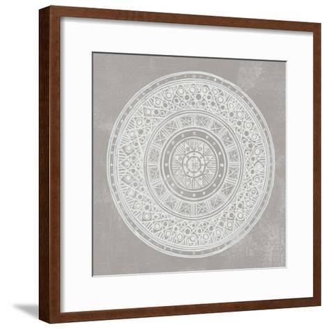 Seville IV FB Greige-Kathrine Lovell-Framed Art Print