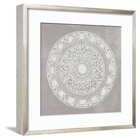 Seville III FB Greige-Kathrine Lovell-Framed Art Print