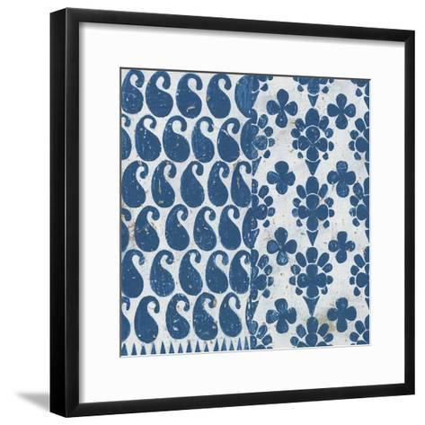 Maki Tile IX-Kathrine Lovell-Framed Art Print