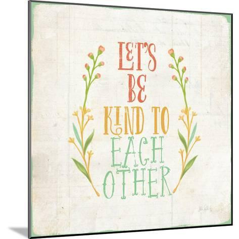 Be Kind I-Katie Pertiet-Mounted Art Print