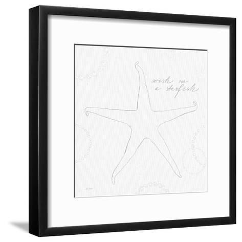 Coastal Splash I no Color-Katie Pertiet-Framed Art Print