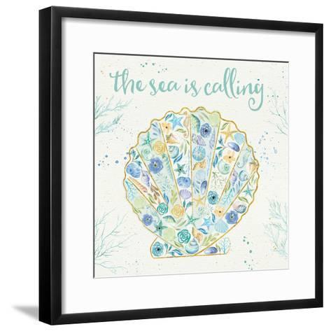 Seaside Blossoms I-Jess Aiken-Framed Art Print