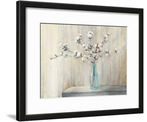 Cotton Bouquet-Julia Purinton-Framed Art Print