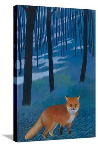 The Edge of the Woods-Kathrine Lovell-Stretched Canvas Print