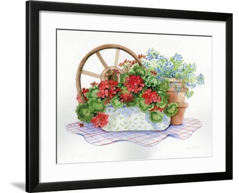 Down Home V-Kathleen Parr McKenna-Framed Art Print
