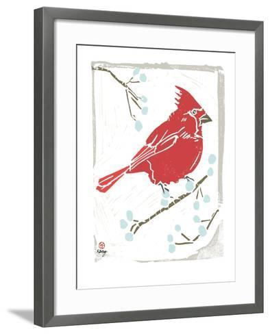 Winter Days III-Kellie Day-Framed Art Print