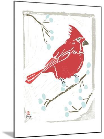 Winter Days III-Kellie Day-Mounted Art Print