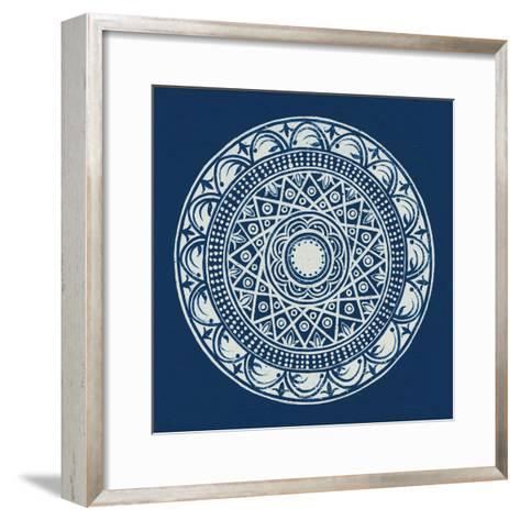 Seville III Dark Blue FB-Kathrine Lovell-Framed Art Print