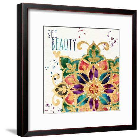 Little Jewels Words I-Jess Aiken-Framed Art Print