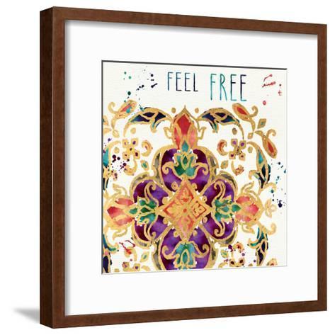 Little Jewels Words IV-Jess Aiken-Framed Art Print