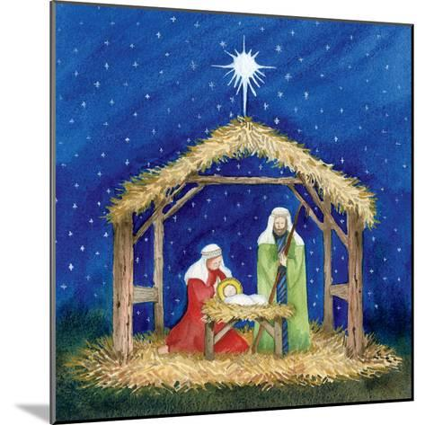 Christmas in Bethlehem III-Kathleen Parr McKenna-Mounted Art Print