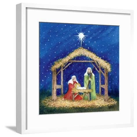 Christmas in Bethlehem III-Kathleen Parr McKenna-Framed Art Print