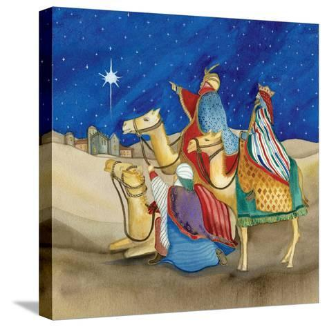 Christmas in Bethlehem II Square-Kathleen Parr McKenna-Stretched Canvas Print
