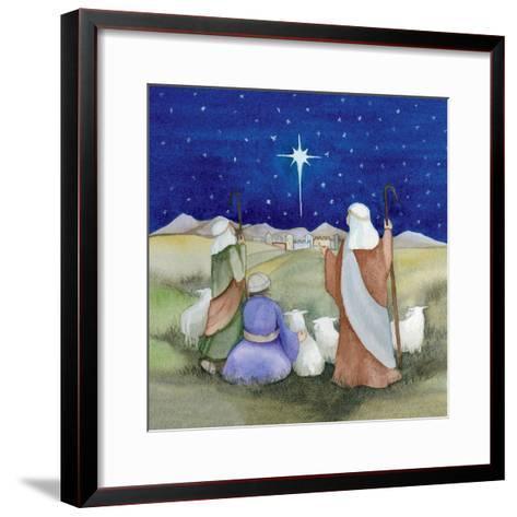 Christmas in Bethlehem IV-Kathleen Parr McKenna-Framed Art Print