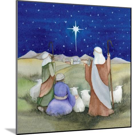 Christmas in Bethlehem IV-Kathleen Parr McKenna-Mounted Art Print