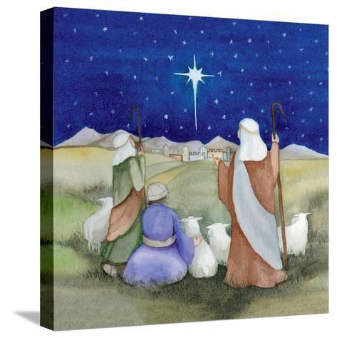 Christmas in Bethlehem IV-Kathleen Parr McKenna-Stretched Canvas Print