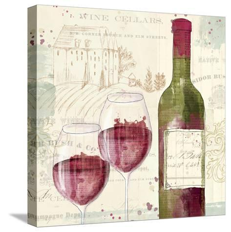 Chateau Winery III-Katie Pertiet-Stretched Canvas Print