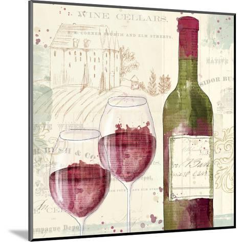 Chateau Winery III-Katie Pertiet-Mounted Art Print