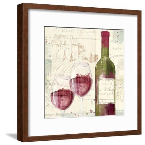 Chateau Winery III-Katie Pertiet-Framed Art Print