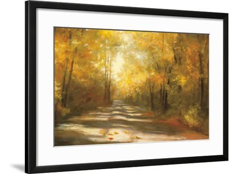 Gap Road Crop-Julia Purinton-Framed Art Print